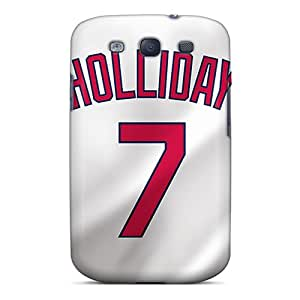 Cases Covers St. Louis Cardinals/ Fashionable Cases For Galaxy S3 Black Friday