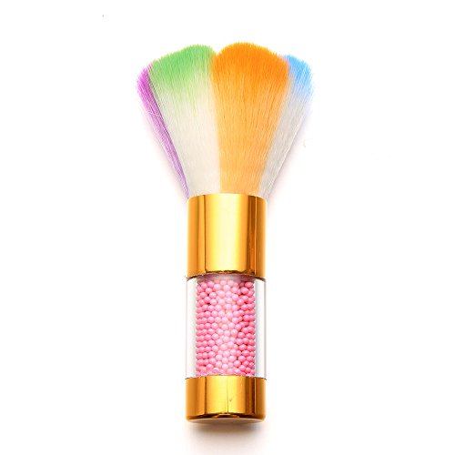 - Colorful Pearl Nail Brush Dust Powder For Acrylic