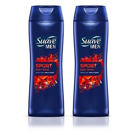 Suave Men Sport Body Wash 18 Fl. Oz. - Set of 2