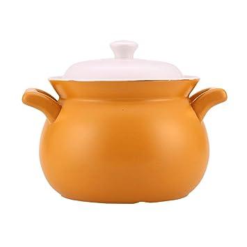 Cacerola Estufa de Gas para el hogar Olla de cerámica Olla de Alta Temperatura Sopa olla