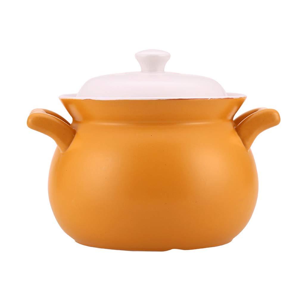 Casserole Household Gas Stove Ceramic Casserole Cooker high Temperature Casserole Soup pot-2L