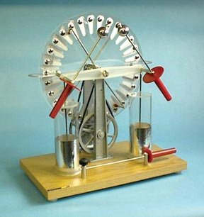 Deluxe Wimshurst Machine  Deluxe Wimshurst Machine Ea
