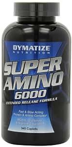Dymatize Nutrition Super Amino 6000 Diet Supplement Tablets, 345 Count
