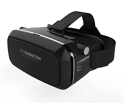 3D Virtual Reality Goggles Headset 3D Viewing Glasses with Pupil Focal Distance Adjustable Suitable for Google iPhone Samsung Note LG Huawei HTC Moto Screen