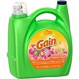 Gain HEC Island Fresh Liquid Laundry Detergent 96 Loads, 150 Fl Oz