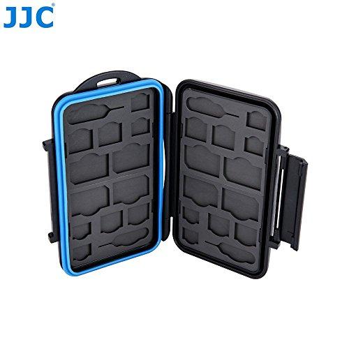 JJC MC-M24 Professional Water-Resistant Mobilephone Cellphone SIM Card Case Protector for 8 SIM + 8 Micro SIM + 8 Nano SIM Cards Storage by JJC (Image #3)