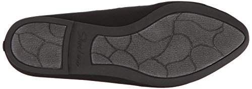 Skechers Mujeres Cleo Bewitch Ballet Flat Black