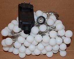 Amazon.com: Led String Light, Arespark Ball Fairy Light, 33Feet 100 LED Globe Waterproof Starry ...