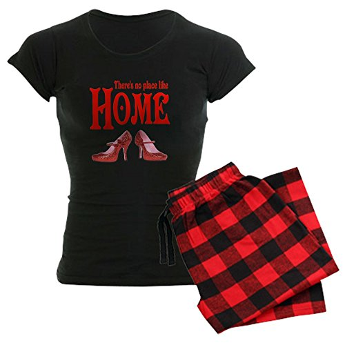 Place Like Home Wizard - CafePress - There's No Place Like Home Wizard Of Oz Women's Da - Womens Novelty Cotton Pajama Set, Comfortable PJ Sleepwear