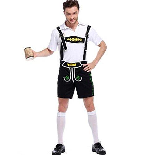 Qichuhua German Beer Men Oktoberfest Man's Adult Halloween Costumes