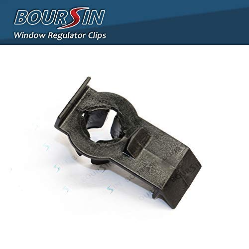 Boursin Front Window Regulator Clips for BMW X5 E53 SAV SUV 3.0i 4.4i 4.6is 4.8is 2000-2006 Pack of 6