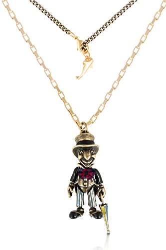Pinocchio Jiminy Cricket Necklace ()