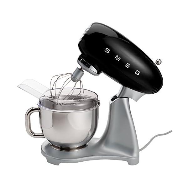 Smeg 5-Quart Stand Mixer-Black 2