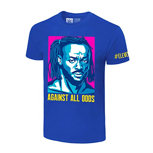 Kofi Kingston Against All Odds T-Shirt Harbor Blue Large