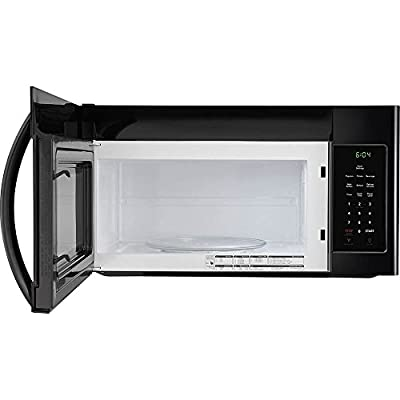 NATIONAL QUALITY FFMV1645TB Over the Over the Range Microwave Oven, Black