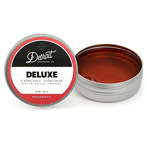 3.4 oz. Deluxe - Water-Based Pomade - Detroit Grooming Company from Detroit Grooming Co.