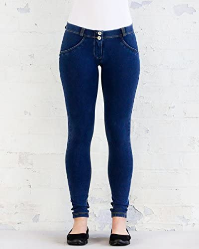 Freddy WR.UP/® Low-Rise Skinny-fit Trousers in Stretch Cotton