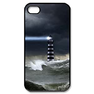 Lighthouse CUSTOM Cell Phone Case for iPhone 4,4S LMc-26322 at LaiMc
