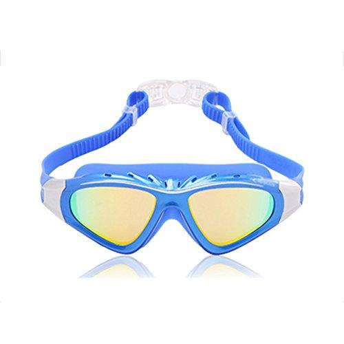 Azul Niebla Gafas Natación Natación Gafas De HD Anti QY Unisex Impermeables De Plano Espejo qxOnaX6wnS