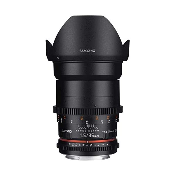 RetinaPix Samyang 35 Mm T1.5 Vdslr Ii Manual Focus Video Lens for Nikon DSLR Camera
