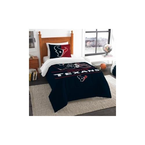 - The Northwest Co mpany NFL Houston Texans Draft Twin 2-piece Comforter Set
