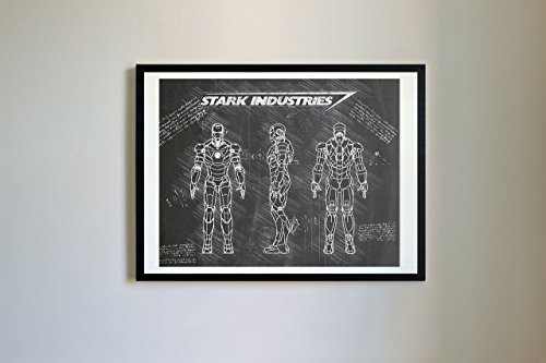with Iron Man Posters design