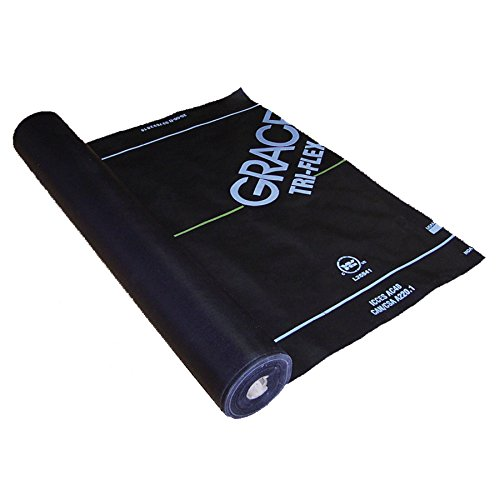 Grace Tri-Flex XT 48-in x 250-ft 1000-sq ft Synthetic Roof Underlayment