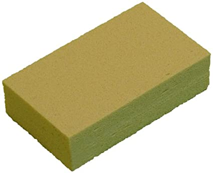 Zephyr 56103 Dover Dry Rubber Individually Wrapped Smoke Sponge Case of 12 6 Length x 1-1//2 Width x 3-1//2 Height