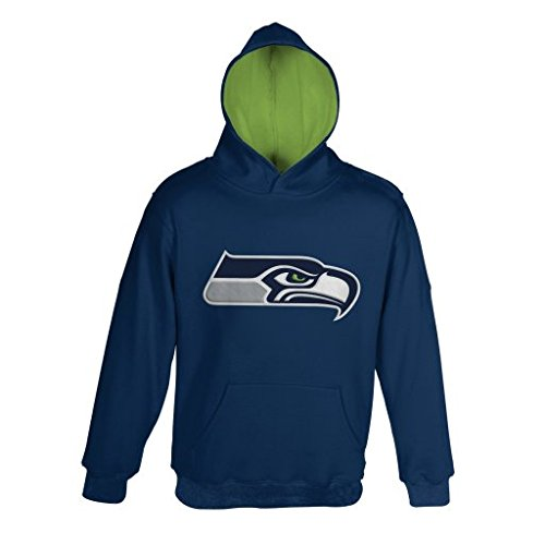 "Outerstuff NFL Seattle Seahawks 8-20 ""PRIMARY"" Pullover H..."