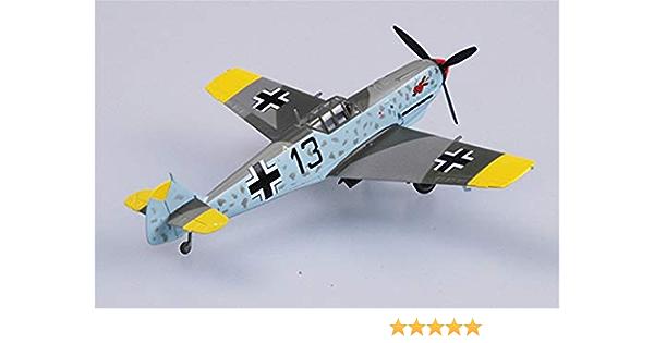 Easy Model 1//72 Messerschmitt BF-109E-7//TROP 2//JG27 Winged Ace Series