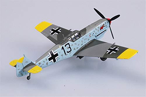 (Easy Model WWII Messerschmitt BF-109E-4 II/JG3 Aircraft 1/72 Non diecast Plane)