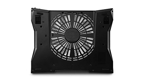 """Cooler Master NotePal XL Laptop Cooling Pad Silent 230mm Blue LED Fan USB Hub Supports Up to 17/"""" laptops R9-NBC-NXLK-GP"""