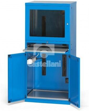 Cassettiere Metalliche Per Officina Prezzi.Armadio Metallico Da Officina Porta Computer Disponibile Blu O