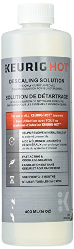 Keurig 4079-2 4079 Set of 2 Small Appliance Parts and Accessories, Descaling Solution, White