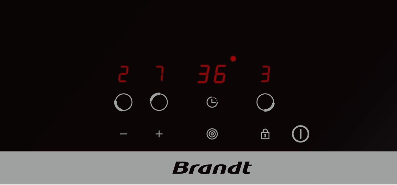 Placa vitrocerámica Brandt BPV6321B