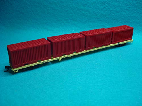 New N Scale Atlas & TSP Models 85' Container Flat CAR for sale  Delivered anywhere in USA