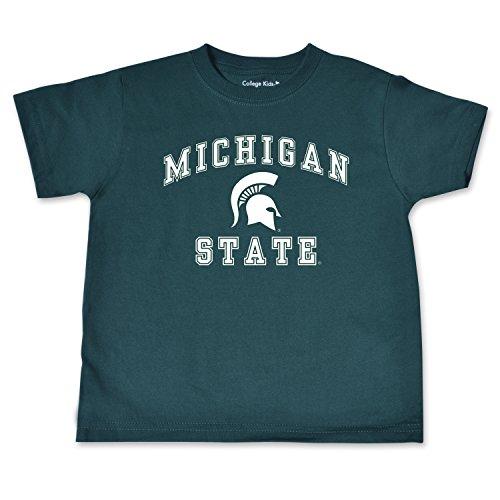 - NCAA Michigan State Spartans Toddler Short Sleeve Tee, 2 Toddler, Dark Green