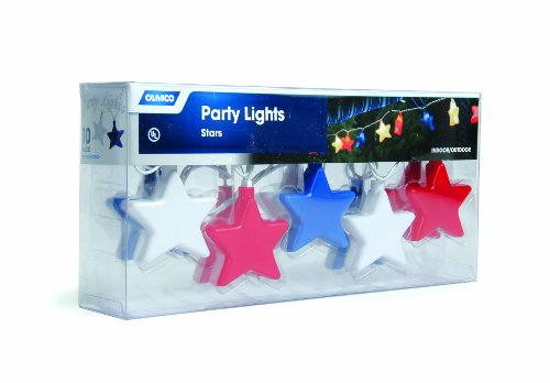 Camco 42656 Patriotic Star Party Light by Camco (Image #1)