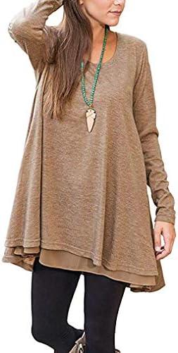 Poetsky Womens Sleeve Chiffon Layered product image