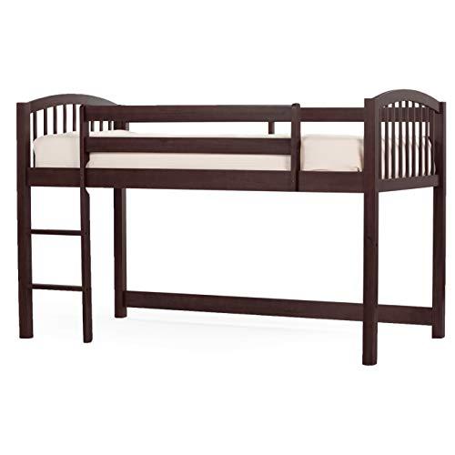 (Hillsdale Furniture 5060N Hillsdale Kids and Teen School House Junior Twin Loft Bed Chocolate)