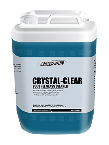 Nanoskin (NA-CCR640) Crystal-Clear VOC Free Glass Cleaner - 5 Gallon