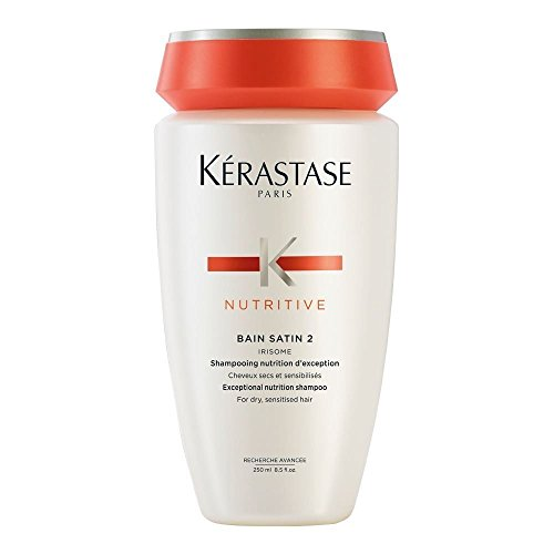 - Kerastase Nutritive Bain Satin 2 Complete Nutrition Shampoo For Dry and Sensitised Hair, 8.5 Oz.