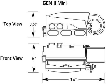 Amazon.com: Vintage Air Gen II Mini Heat AC Defrost System w/Billet Oval  Control Hot Rods Customs Classics: AutomotiveAmazon.com