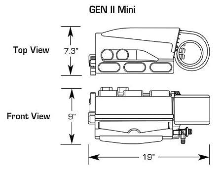 Amazon.com: Vintage Air Gen II Mini Heat Air Conditioning ... on