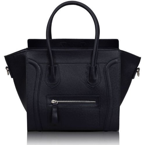 Ladies Designer Tote Grab Handbags Womens Stylish Shoulder Bags Faux Leather New