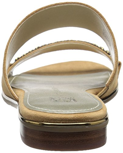 Anne Klein Womens Napper Dress Sandal Dark Natural