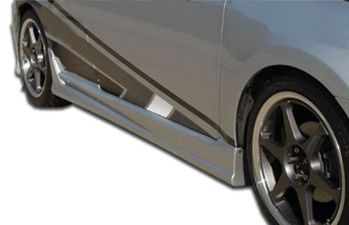 2005-2010 Scion tC Duraflex Raven Side Skirts Rocker Panels - 2 Piece (Skirt Side Fiberglass)