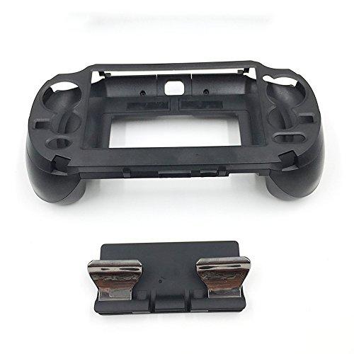 L3 R3 Matte Hand Grip Handle Joypad Stand Case with L2 R2 Trigger Grips Handel Holder Button For PS Vita PSV 1000 (Black) by Cleveland Morse