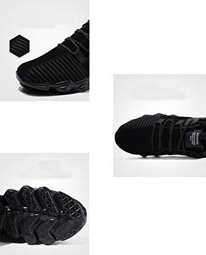 Sneakers Corsa Scarpe da da Nero Casual Ginnastica Scamosciato Uomo Scarpe SPEEDEVE 0zXngz