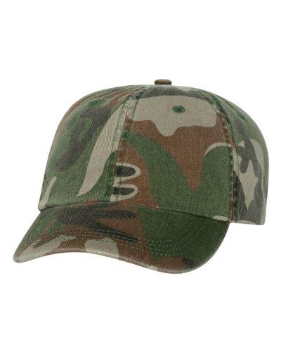 Alternative - Cotton Twill Cap - AH70 - Adjustable - Green Camo